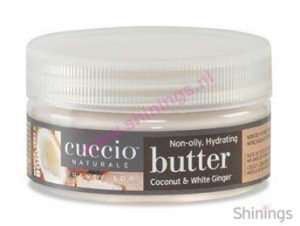 Naturale butter Coconut en White Ginger van Cuccio